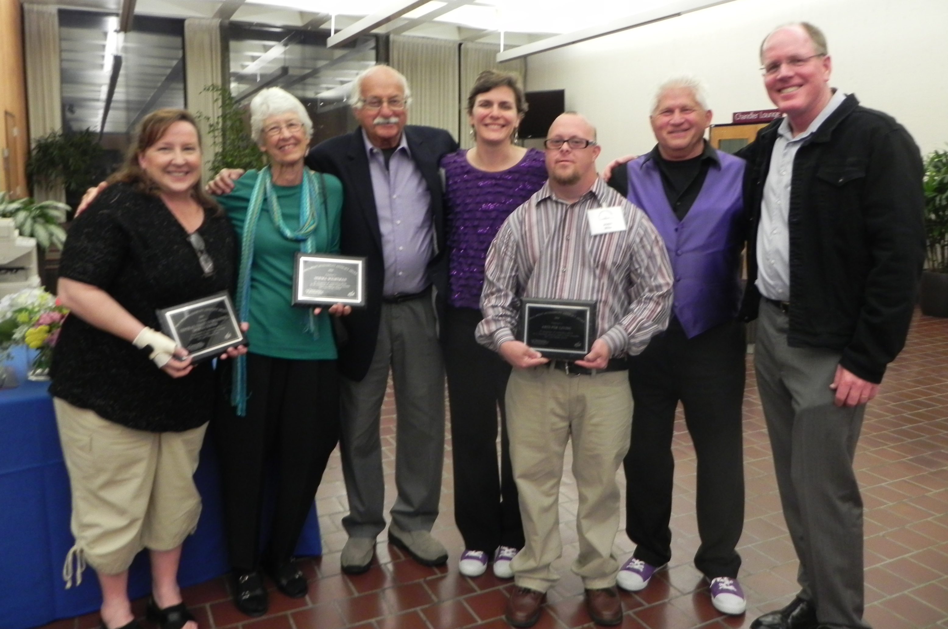 Image of the 2014 Winners of the Paul Wolff Accessibility Advocacy Awards